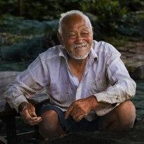 张福河的老人