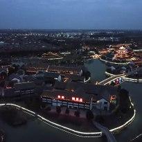 水釜城夜景